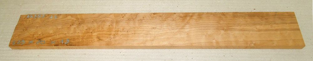 Ah357 Roasted Birds Eyes Maple 523 x 70 x 13 mm