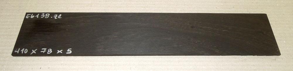 Ebf138 Ebony Saw Cut Veneer 410 x 78 x 5 mm