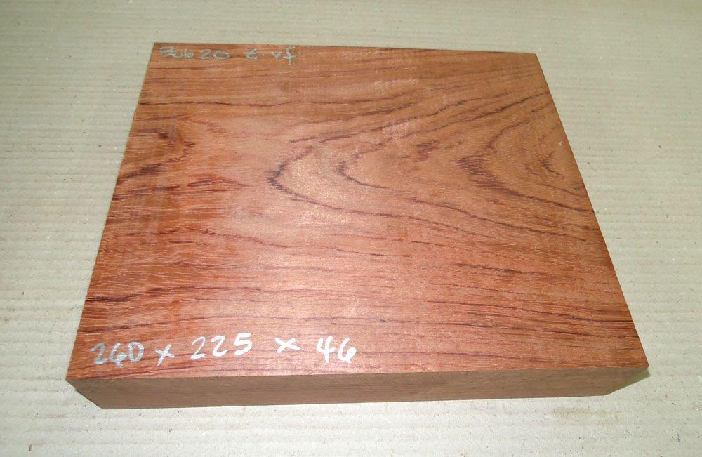 Bub020 Bubinga 260 x 225 x 46 mm