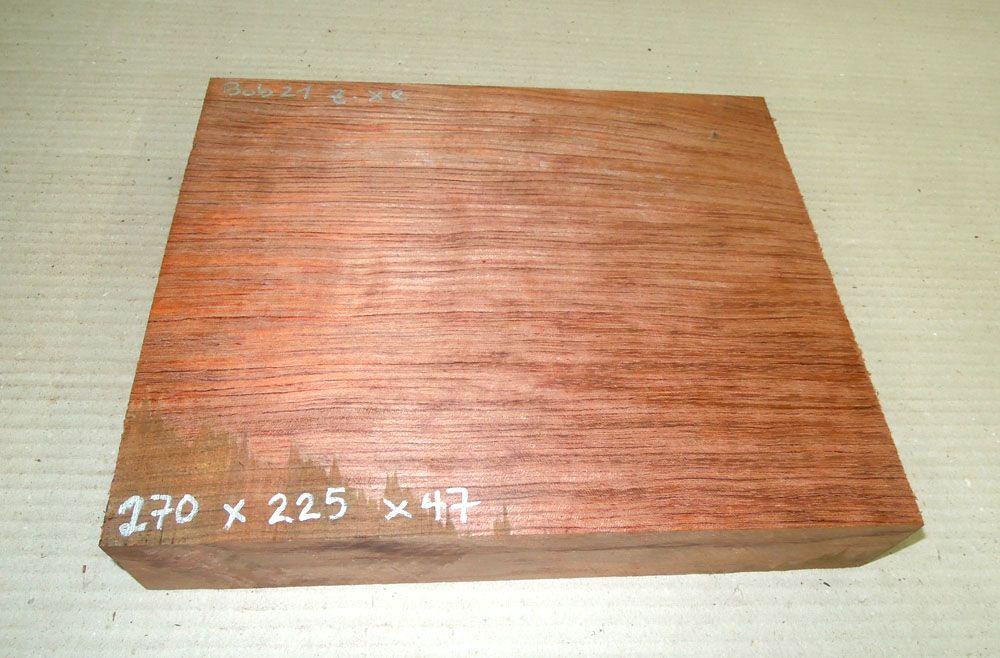 Bub021 Bubinga 270 x 225 x 47 mm