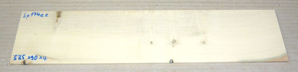 Sp174 Holly Saw Cut Veneer 385 x 90 x 4 mm