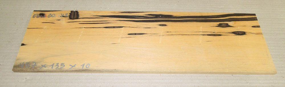 Ebw030 Schwarz-weißes Ebenholz 457 x 135 x 10 mm