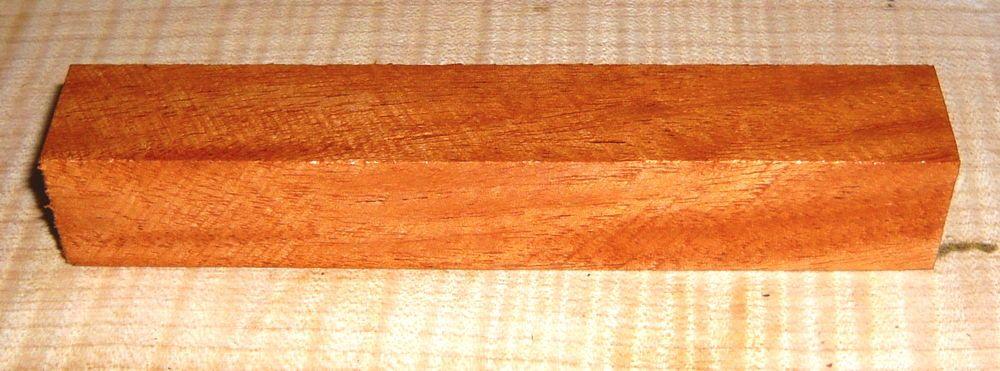 Mahogany Honduran (Swietenia) Penblank 120 x 20 x 20 mm