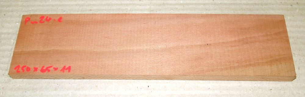 Pn024 Sycamore Plane 250 x 65 x 11 mm