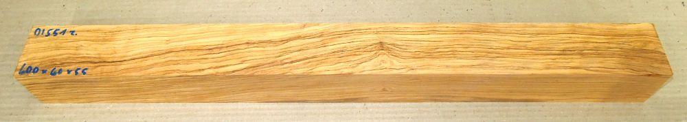 Ol551 Wild-Olivenholzkantel 600 x 60 x 55 mm