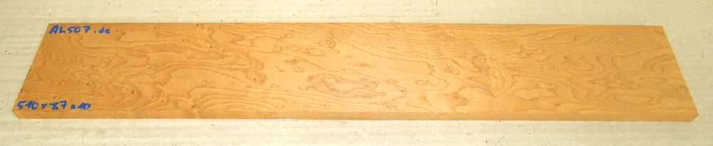 Ah507 Roasted Birds Eyes Maple 510 x 87 x 10 mm