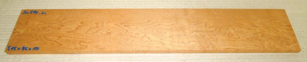Ah510 Vogelaugenahorn getempert 515 x 95 x 10 mm