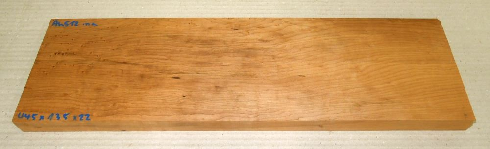 Ah512 Roasted Birds Eyes Maple 445 x 135 x 22 mm