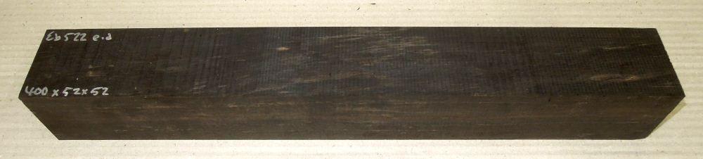 Eb522 Ebony Blank B-graded 400 x 52 x 52 mm
