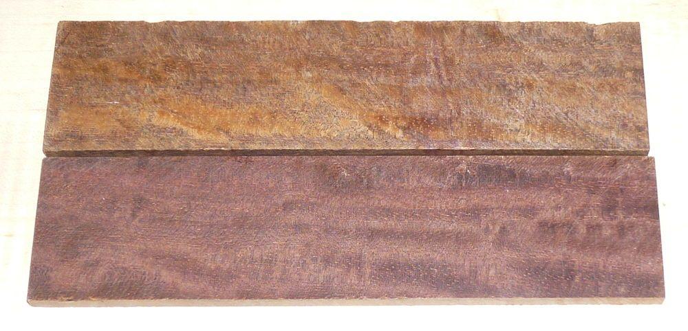 Gombeira, Coraçao de Negro, Eisenholz Griffschalen 150 x 40 x 5 mm