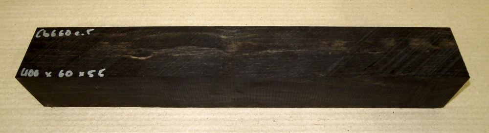 Eb660 Ebony Blank B-graded 400 x 60 x 55 mm