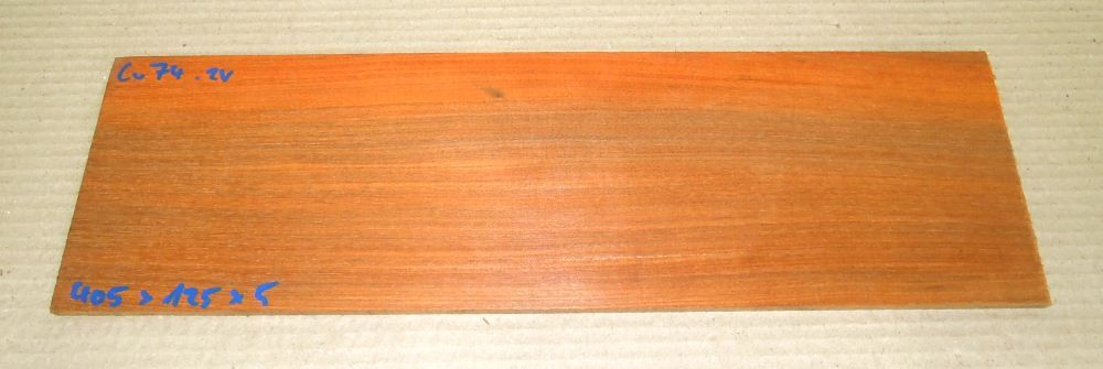 Cv074 Paela, Chakte Viga Saw Cut Veneer 405 x 125 x 5 mm
