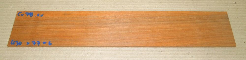 Cv078 Paela, Chakte Viga Saw Cut Veneer 430 x 77 x 6 mm