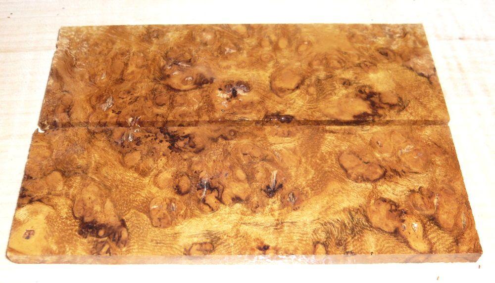 Sindora Burl Folder Scales 120 x 40 x 4,5 mm