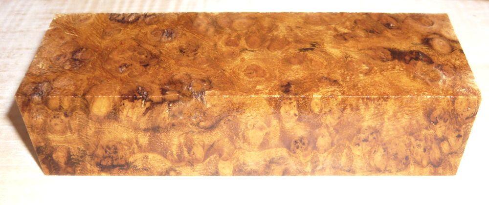 Sindora Burl Knife Block 120 x 40 x 30 mm