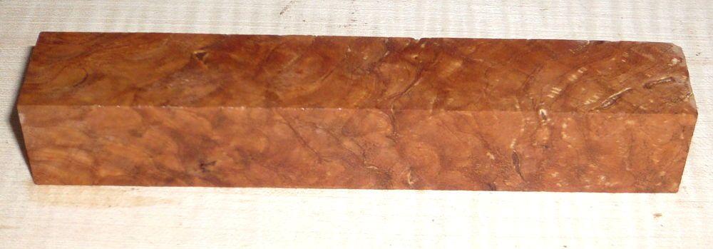 Pyinma Burl Pen Blank 120 x 20 x 20 mm