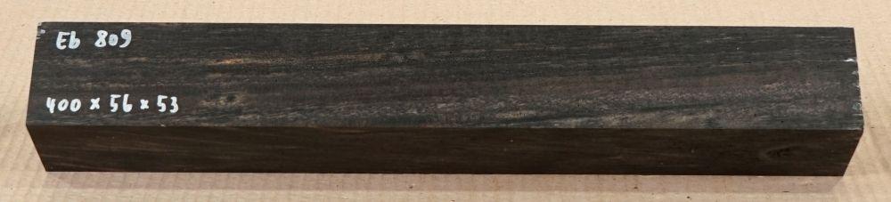 Eb809 Ebony Blank B-graded 400 x 56 x 53 mm