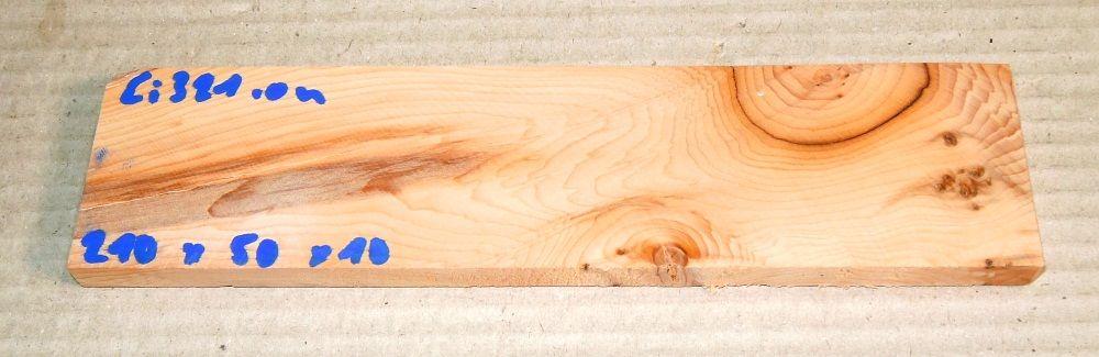 Ei321 Yew Burl AAA 210 x 50 x 10 mm