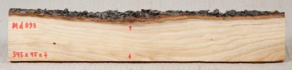 Md093 Almond Tree Wood 345 x 45 x 7 mm