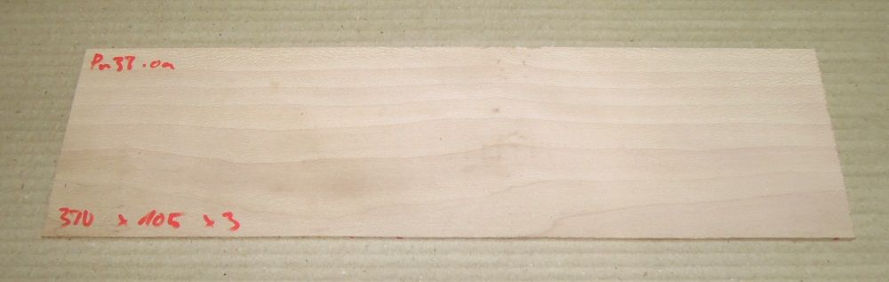 Pn038 Sycamore Plane 380 x 105 x 3 mm