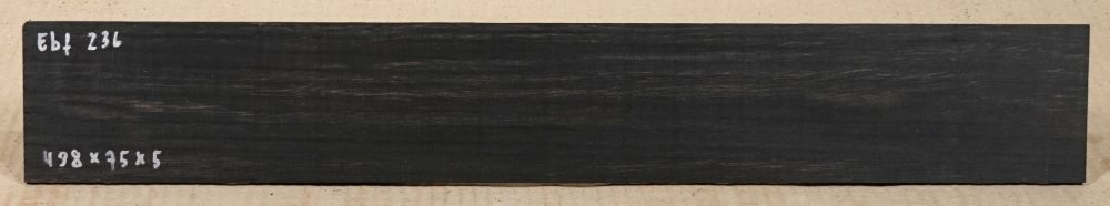 Ebf236 Ebony Saw Cut Veneer 498 x 75 x 5 mm
