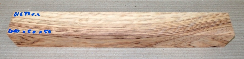 Ol689 Wild Olive Wood 410 x 50 x 50 mm