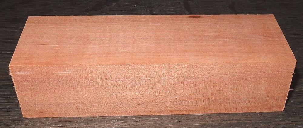 Wild Service Tree Knife Block 120 x 40 x 30 mm