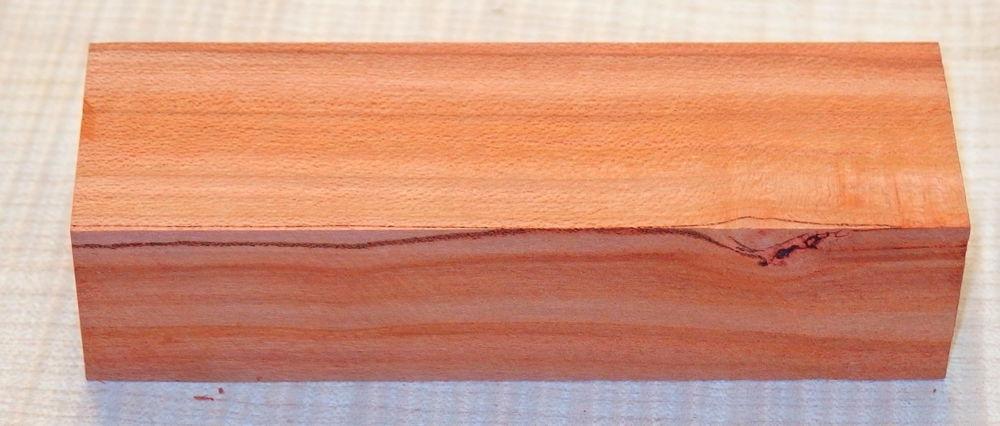 Pflaumenholz, Zwetschgenholz Griffblock 120 x 40 x 30 mm