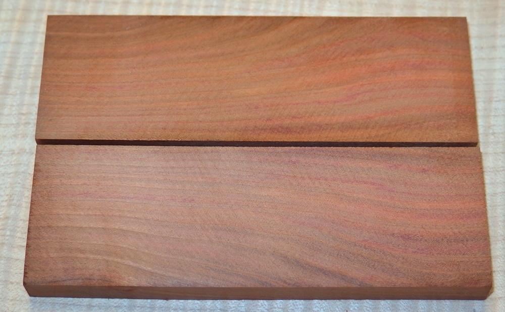 Pflaumenholz, Zwetschgenholz Griffschalen 120 x 40 x 10 mm