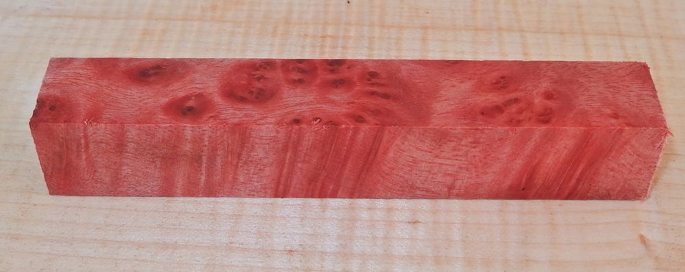 Bayur Burl Pen Blank 120 x 20 x 20 mm