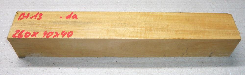 Bt013 Baitoa, St. Domingo Boxwood Flute Blank 260 x 40 x 40 mm
