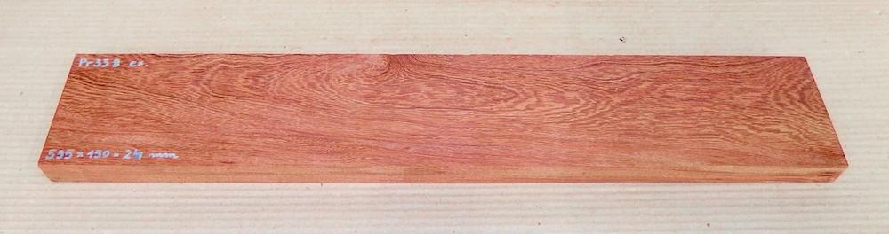 Pr338 Pau Rosa 595 x 150 x 24 mm