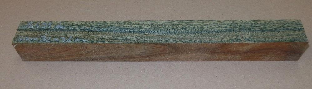 Po499 Lignum Vitae, Guaiacum Blank 300 x 32 x 32 mm Prod.-Nr.: 202746/002