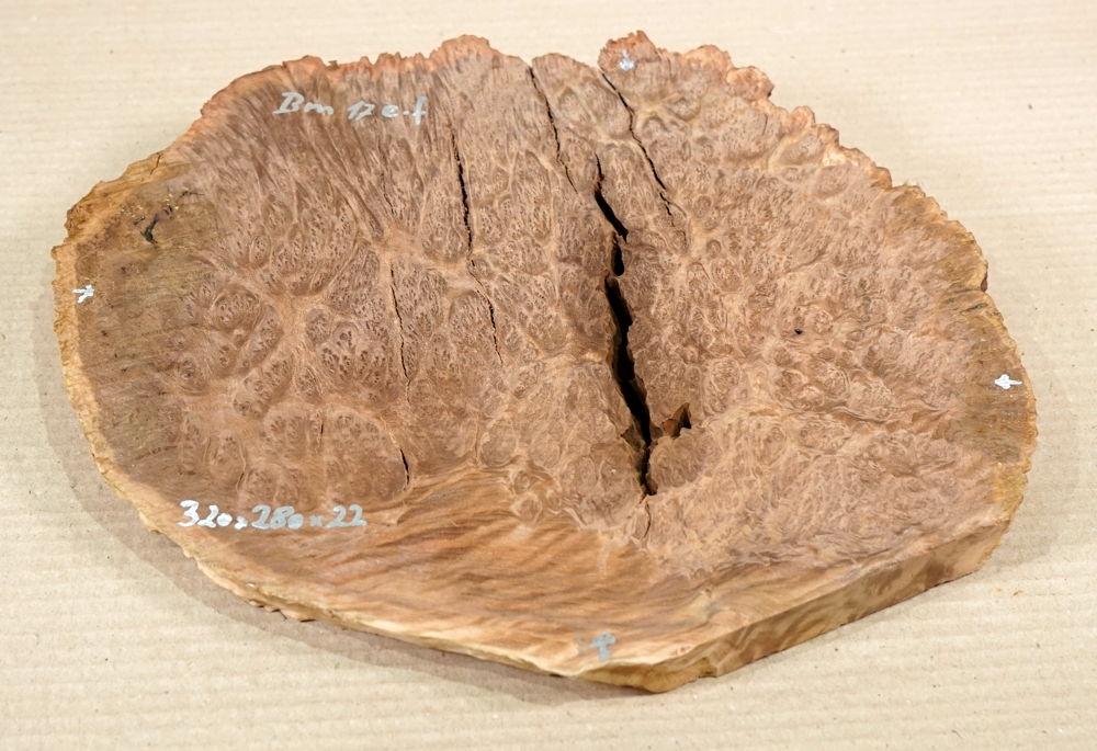 Bm017 Brown Mallee Dekostück 320 x 280 x 22 mm