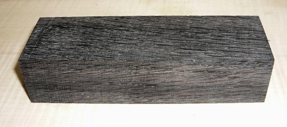 Bog Oak Stabilized Knife Blank 120 x 40 x 30 mm