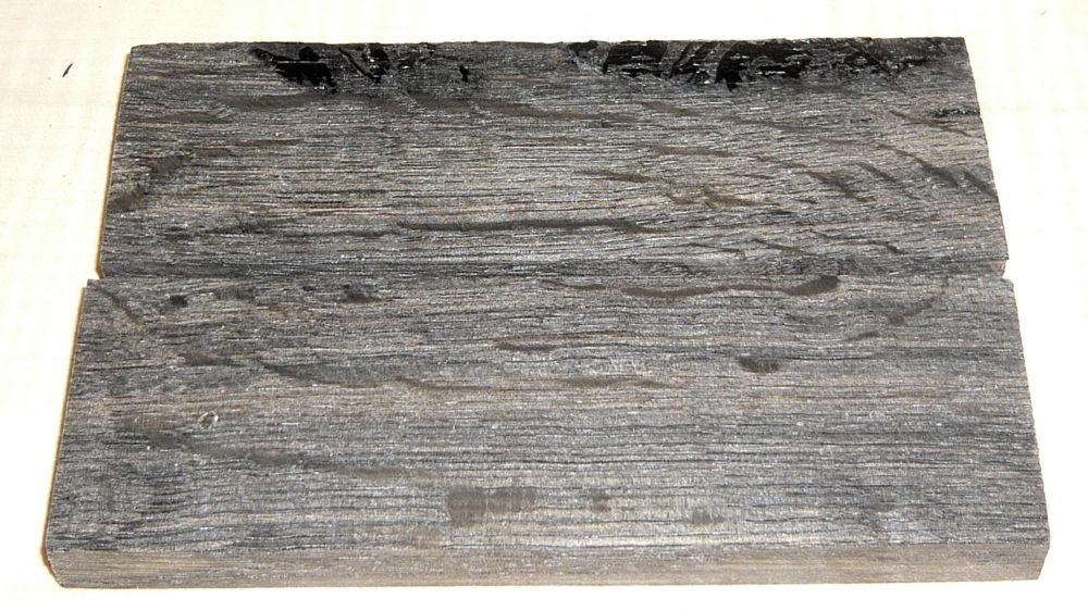 Mooreiche stabilisiert Griffschalen 120 x 40 x 10 mm