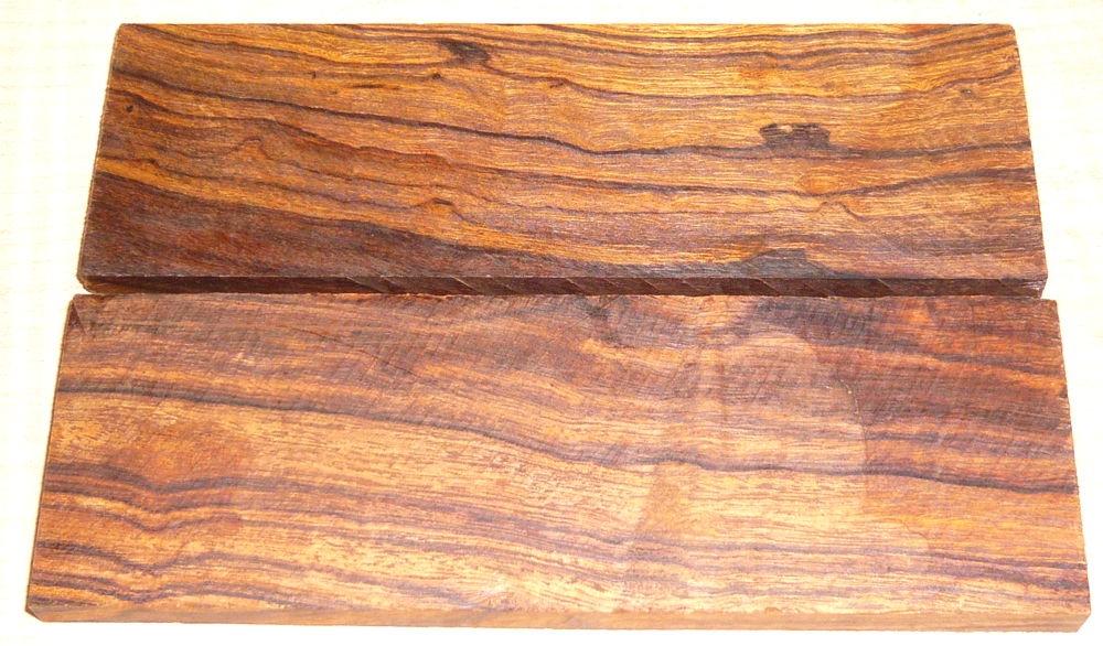 Wüsteneisenholz Griffschalen Sonderposten ca. 135 x 45 x 7-8 mm