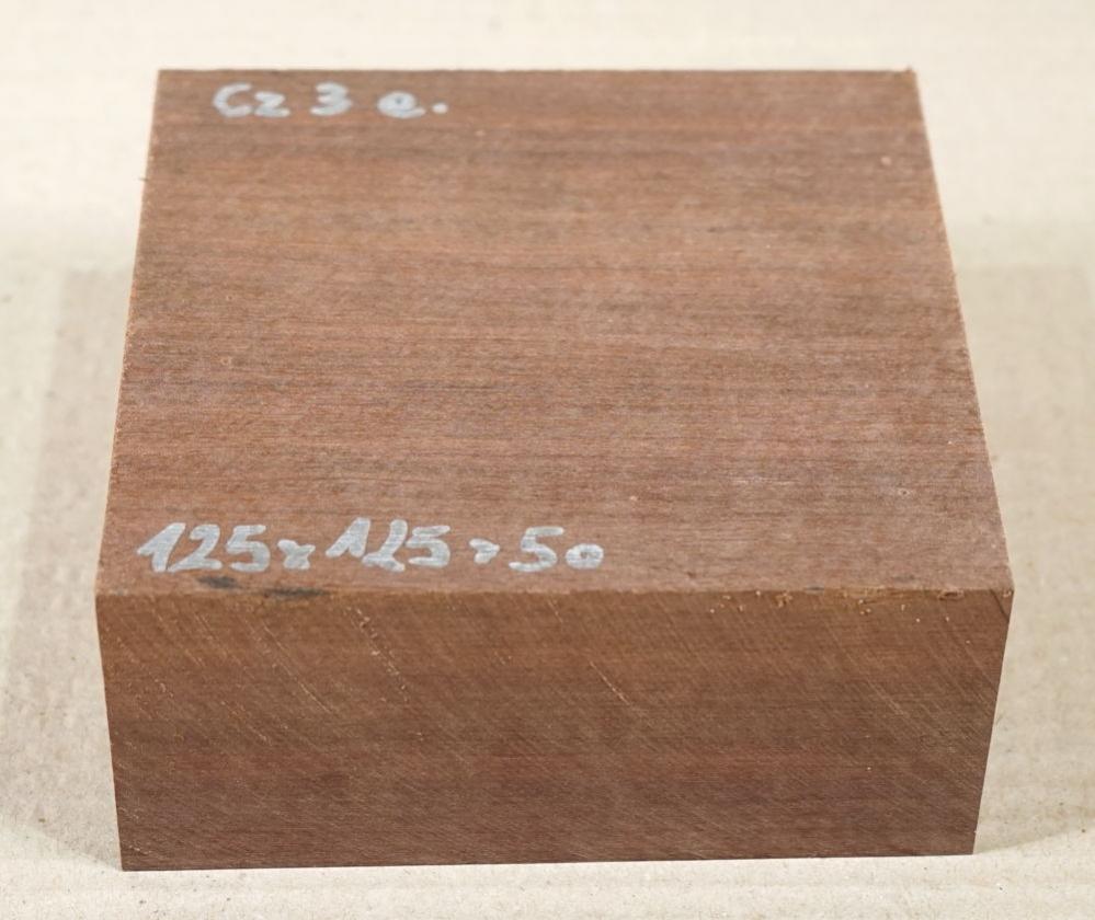 Cz003 Chico Zapote, Sapodilla Bowl Blank 125 x 125 x 50 mm