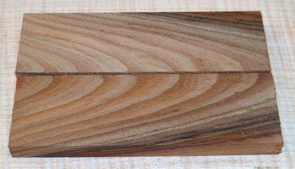 Russian Olive Knife Scales from Berlin Ku'damm 120 x 40 x 10 mm
