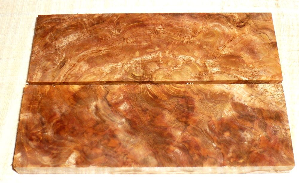 Pyinma Maser Rasierer-Griffschalen 140 x 40 x 4 mm