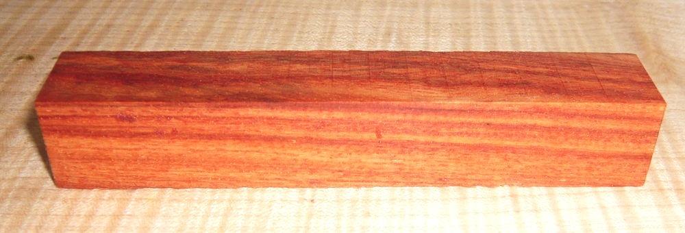 Pr015 Pau Rosa, Snake Bean Pen Blanks Sonderposten! 10 Stück a 120 x 19-20 x 19-20 mm