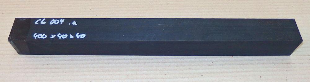 Eb004 Ebenholzkantel 405 x 40 x 40 mm
