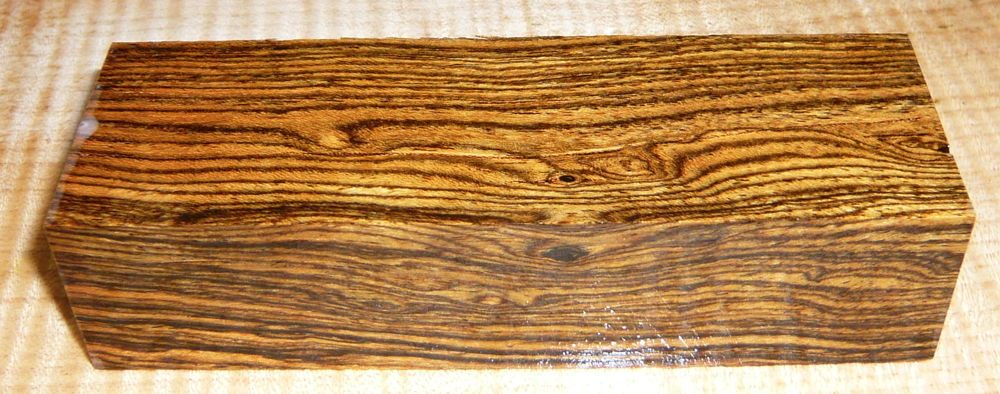 Bocote Knife Blank 120 x 40 x 30 mm