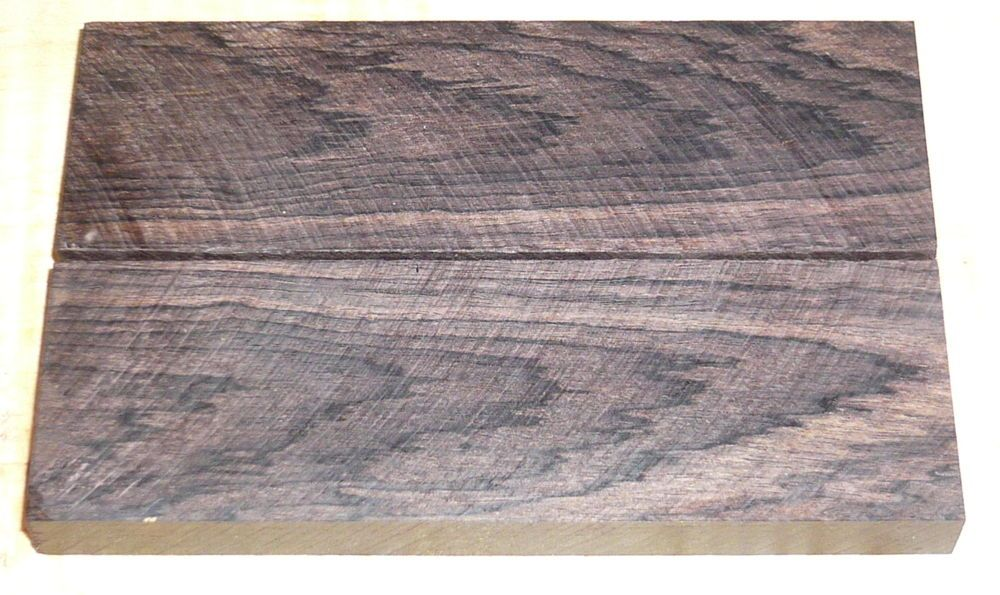 African Blackwood Knife Scales 120 x 40 x 10 mm