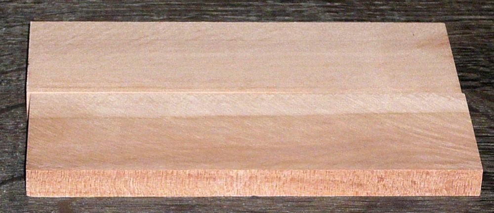 Elsbeere Griffschalen 120 x 40 x 10 mm