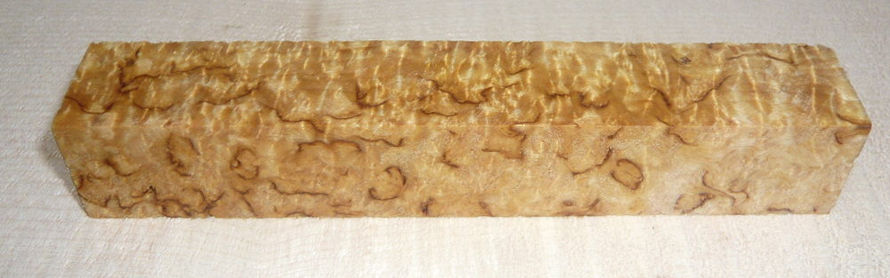 Birch Burl, Karelian Pen Blank 120 x 20 x 20 mm