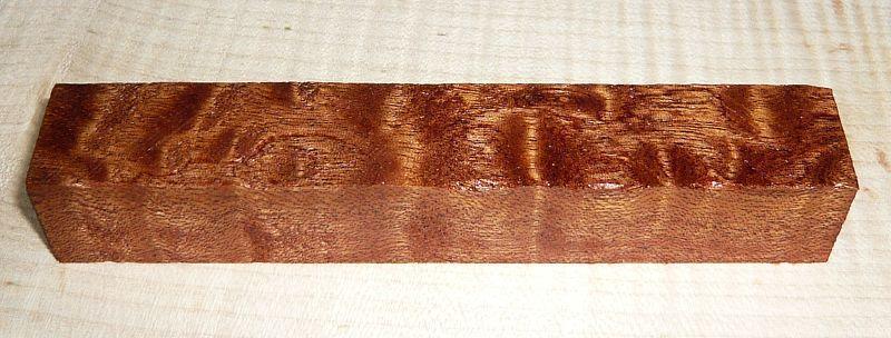 Mahagoni pommelé Pen Blank 120 x 20 x 20 mm