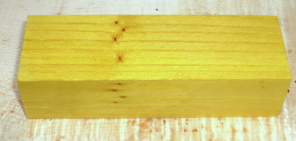 Osage Orange Griffblock 120 x 40 x 30 mm