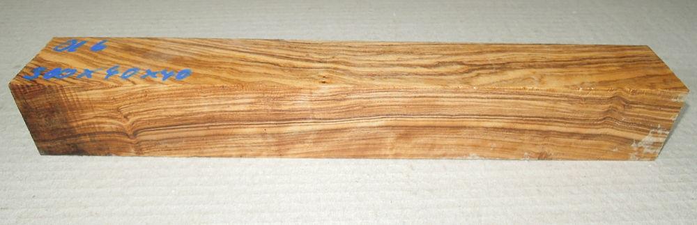 Ol006 Wild Olive Turning Blank 310 x 40 x 40 mm