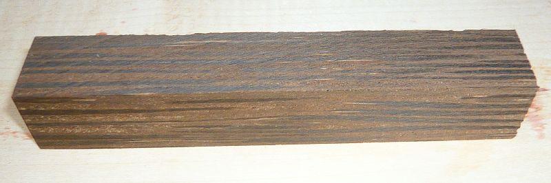 Palm Wood, Black Palmyra Pen Blank 120 x 20 x 20 mm